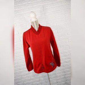 5/$25 NorthCrest Christmas Fleece Sweatshirt